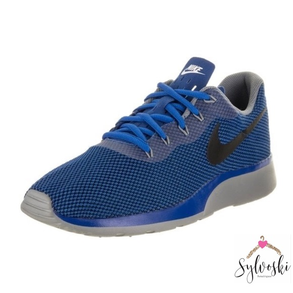 6ec154e847bd 🆕Nike Men s Tanjun Racer Running Shoe Dodger Blue